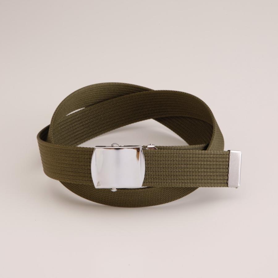 Lサイズ  ガチャベルト GIベルト 32ミリ メンズ ベルト 布ベルト くすみにくい クロームメッキ 仕様 選べる ナイロン 綿 120センチ 自社生産 日本製 おしゃれ|beltokuda|28