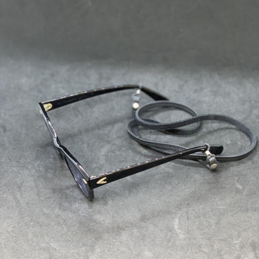 【新色追加しました】 メガネチェーン 眼鏡チェーン メガネストラップ グラスコード メンズ レディース 男女兼用 シンプル 本革 クーズー クドゥー希少 英国製|beltokuda|23