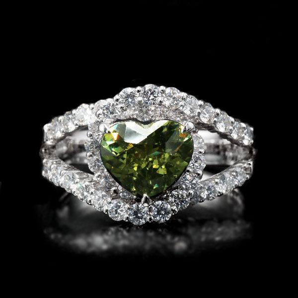 リング 指輪 限定1本 PT900 1.79ctハートのデマントイドガーネット ダイヤモンドリング 11号 限定マルシェ  #11 誕生石4月1月 サイズ変更承ります benebene 02