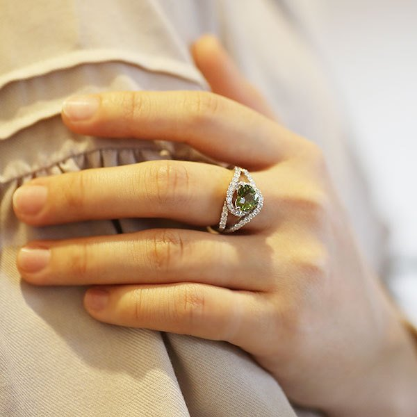 リング 指輪 限定1本 PT900 1.79ctハートのデマントイドガーネット ダイヤモンドリング 11号 限定マルシェ  #11 誕生石4月1月 サイズ変更承ります benebene 06