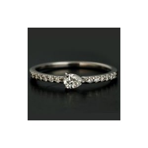 上等な リング 指輪 レディース シェルタ ペアシェイプ ダイヤモンドリング 割引対象外 誕生石 4月, ビモア Beauty f578df71