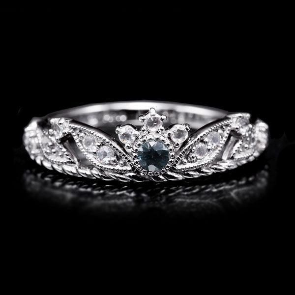 リング 指輪 限定1本 PT900 ベキリー産カラーチェンジガーネットローズカットダイヤモンド リング  #11 誕生石1月4月 サイズ変更承ります|benebene|02