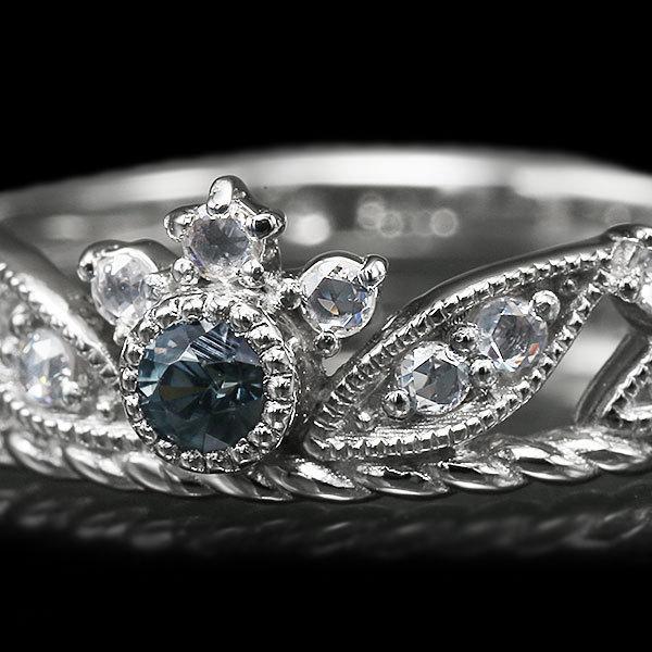 リング 指輪 限定1本 PT900 ベキリー産カラーチェンジガーネットローズカットダイヤモンド リング  #11 誕生石1月4月 サイズ変更承ります|benebene|03
