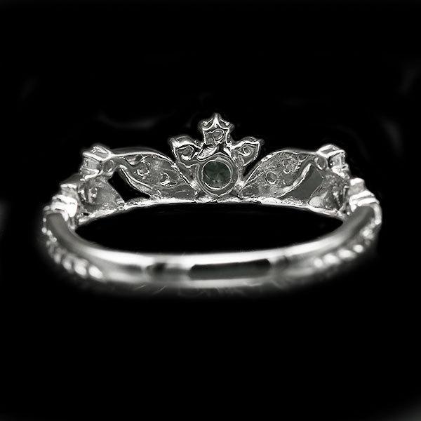 リング 指輪 限定1本 PT900 ベキリー産カラーチェンジガーネットローズカットダイヤモンド リング  #11 誕生石1月4月 サイズ変更承ります|benebene|05