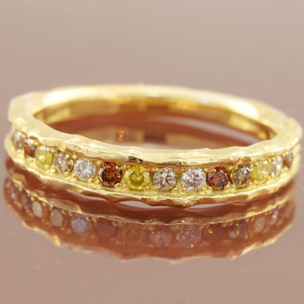 ファッションなデザイン リング 指輪 マルチカラーダイヤモンド リング アース 新しくお作りいたします 誕生石 4月, LFO 1236fd0d