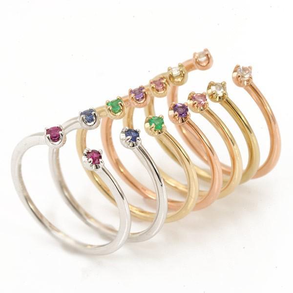 リング 指輪 レディース 誕生石 リング twinkle ☆ twinkle K10 K18対応 しゃれ ファッション 女性 記念日 ギフト プレゼント 誕生石|benebene