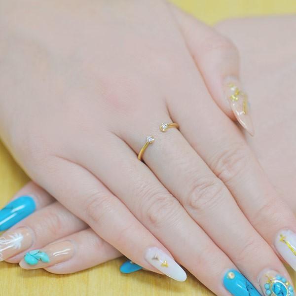 リング 指輪 レディース 誕生石 リング twinkle ☆ twinkle K10 K18対応 しゃれ ファッション 女性 記念日 ギフト プレゼント 誕生石|benebene|04