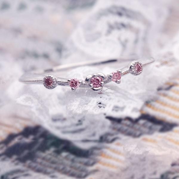 ファッションなデザイン リング 指輪 指輪 PT900 稀少石ピンクダイヤモンドリング フロスコロ Flosculo PT900 #11 Flosculo サイズ変更承ります 限定1本 誕生石 4月, 低価格の:925a24ea --- airmodconsu.dominiotemporario.com