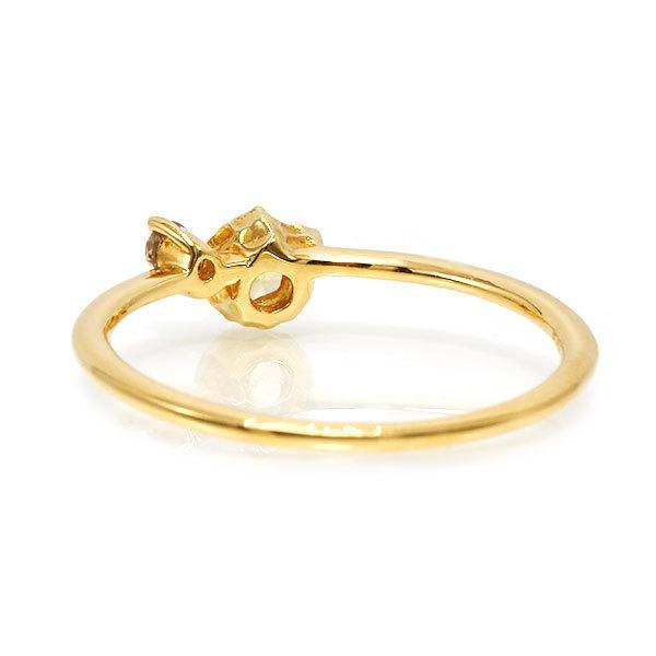 リング レディース 指輪 いつも一緒の愛猫りんぐ イエローサファイア タンザナイト リング micino ミチーノ  誕生石 9月12月 benebene 05