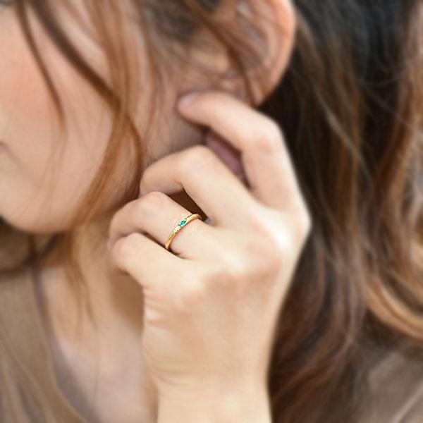 リング 指輪 レディース パライバトルマリン ペアシェイプ リング 誕生石 10月 |benebene|07