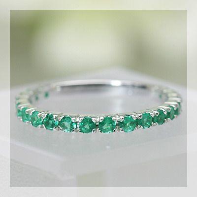 正式的 リング 5月 指輪 指輪 レディース 誕生石 19石が整然と並んだエメラルドストレートリング 誕生石 5月, いばらきけん:cfc1597a --- airmodconsu.dominiotemporario.com