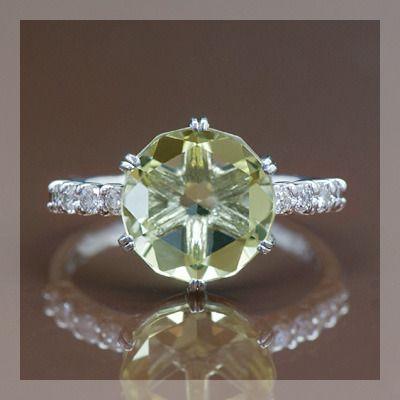 超安い品質 カクテル レモンクォーツ ダイヤモンドリング 誕生石 4月, KITAGO BASE ミニカーショップ ff73c82c