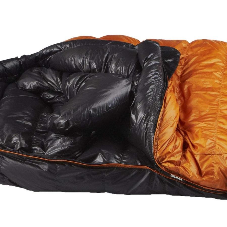 イスカ(ISUKA) 寝袋 エア 630EX ゴールド 最低使用温度-15度