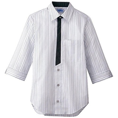 男女兼用七分袖シャツ S BT-3122 グレー 品番SSY3902