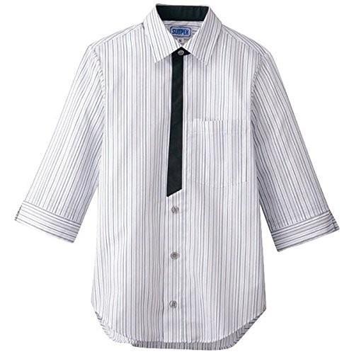 男女兼用七分袖シャツ L BT-3122 グレー 品番SSY3904