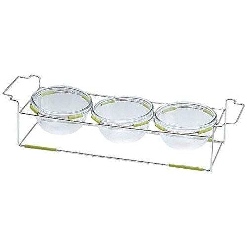 ミヤザキ食器 ワイヤースタンドセット(15cmボール付) BQ9909-1503(WH)