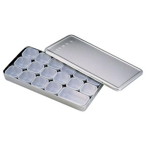 MA 18-8 検食容器(中子PP蓋付)A型 商品コード6306200