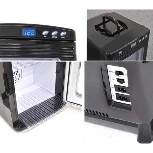 大容量 保冷・保温に適した ポータブル冷温庫 25L ブラック