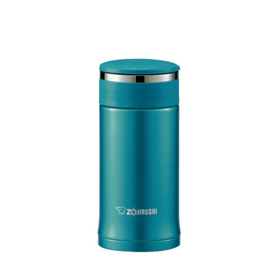 象印 ( ZOJIRUSHI ) 水筒 ステンレスマグ 0.2L エメラルドパカッと分解せん 小容量タイプ SM-EC20-GC
