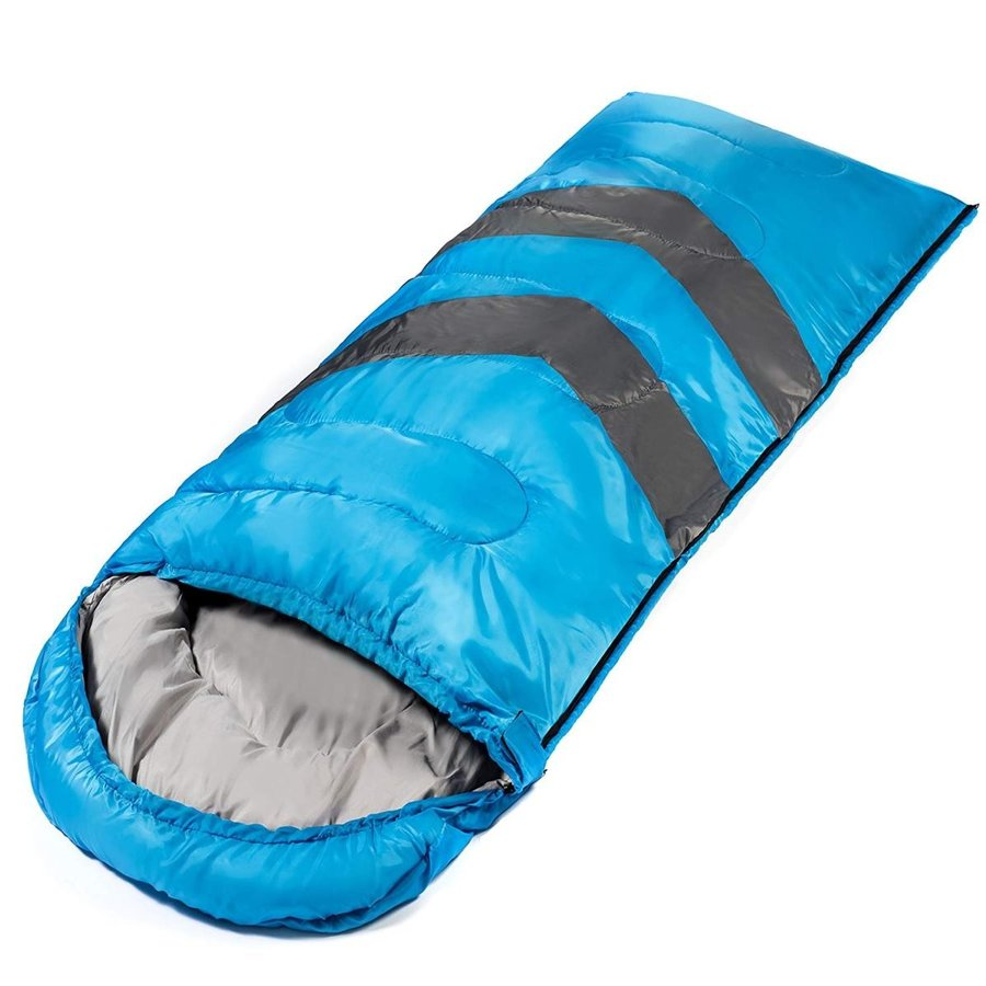 Large Sleeping Bag For Warm And Cold Weather 4 Seasons Comfortable At