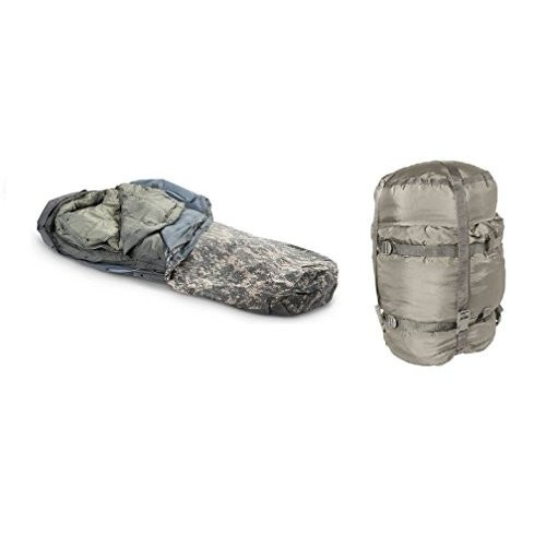 実物米軍 モジュラーシステム 5Piece 最大 -40℃ シェラフ 寝袋 並行輸入品
