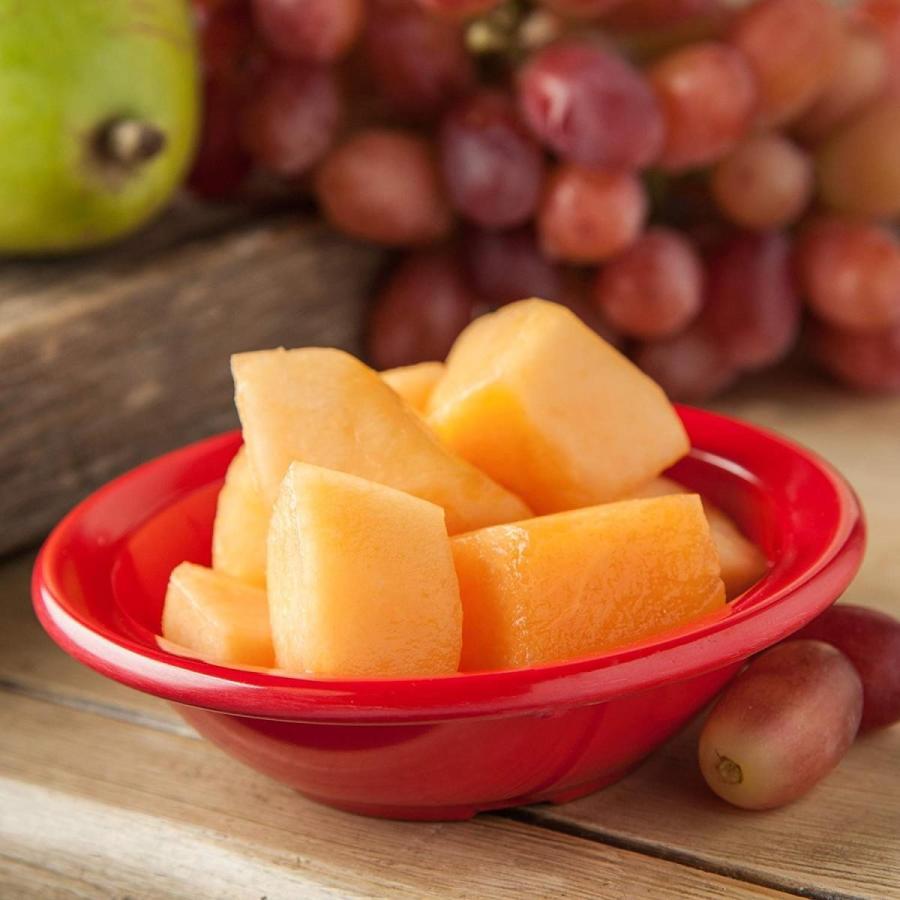 Carlisle KL80505 Kingline Melamine Rimmed Fruit Bowl, 120ml Capacity,