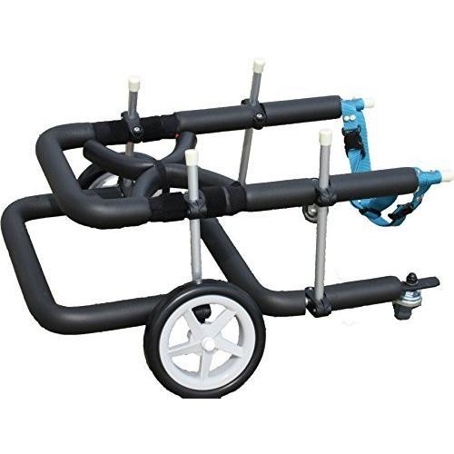 犬用車椅子 歩行器 小型犬用 4輪タイプ 前後足用 室内 歩行補助 Mダックス Tプードル