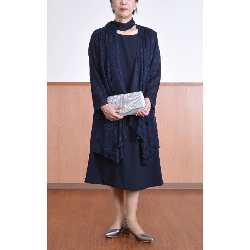 ドレス レンタル 6点セット レース ボレロ ワンピース L  / LL(9〜15号/15〜19号)|beplan|03
