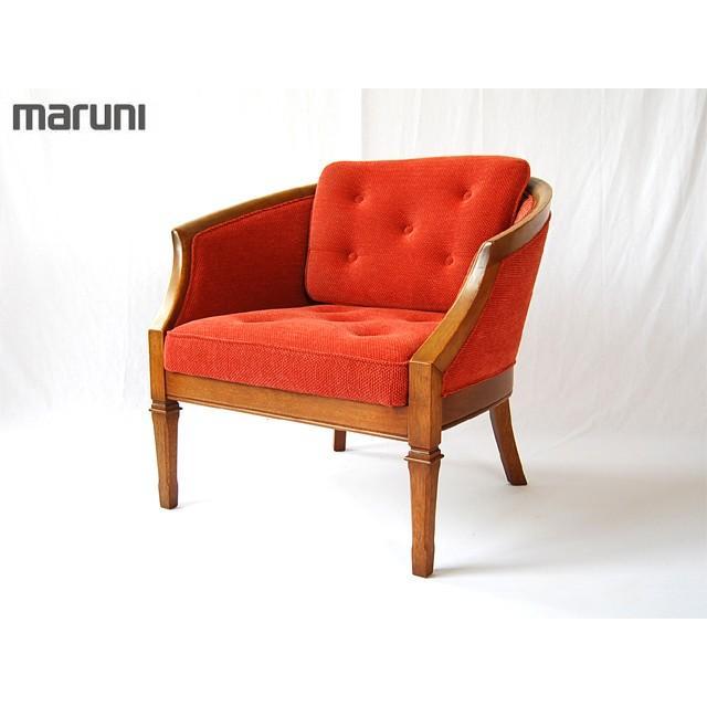 マルニmaruniビンテージ地中海シリーズニースIIアームチェア肘掛椅子ロビーいす150518022中古家具