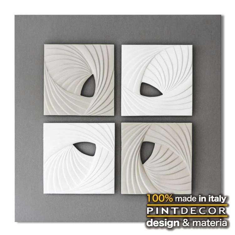 ウォールデコペインティング ウォールデコペインティング モダンデザインのアートパネル MATRIX P5050 イタリア直輸入