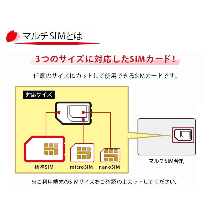 プリペイド SIMカード 全日通 AJC 2GB 8日間 日本国内用 データ専用 ...