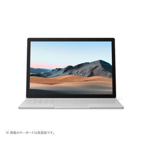 マイクロソフト Surface Book 3(プラチナ) 13.5型 Core i7/16GB/256GB/GTX1650 Max-Q/Office SKW-00018
