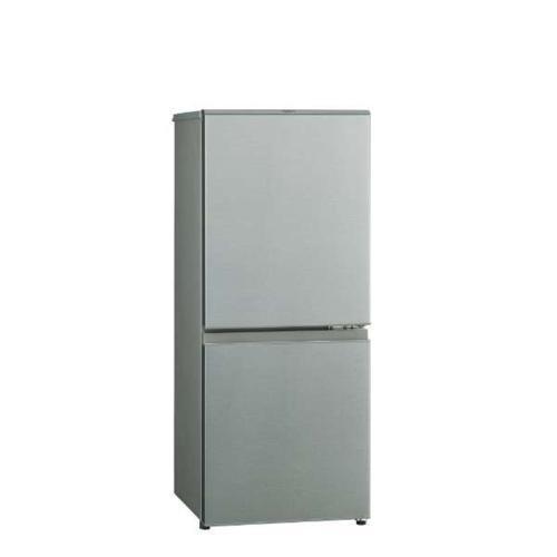 アクア AQR-13K-S ブラッシュシルバー 有名な 待望 2ドア冷蔵庫 右開き 126L