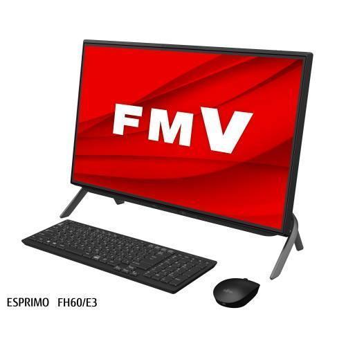 富士通 低価格化 FMVF60E3B ブラック 23.8型 Ryzen 5 8GB 直営店 512GB Office FH60 ESPRIMO E3 FMV