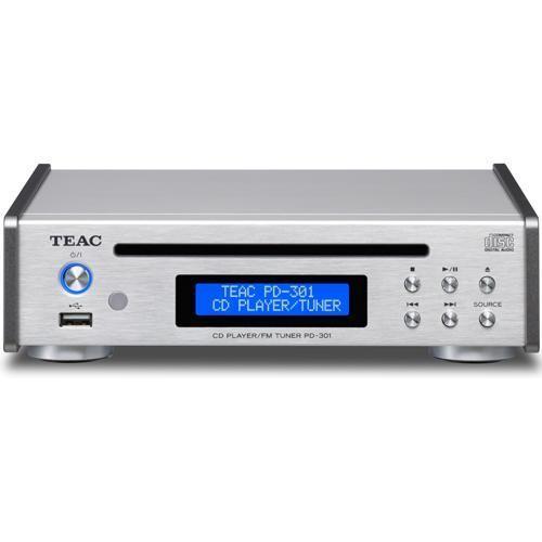 TEAC PD-301-S(シルバー) ワイドFMチューナー搭載CDプレーヤー ベスト ...