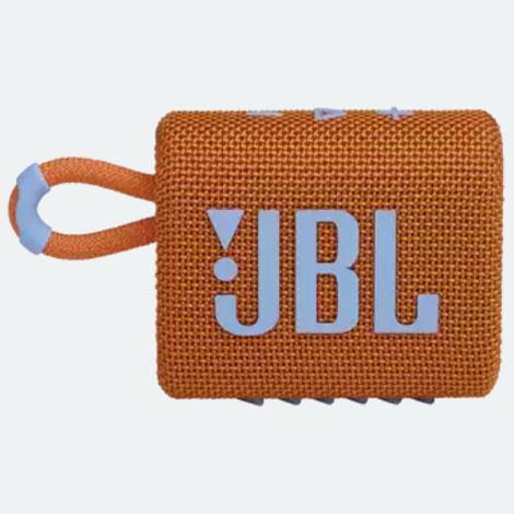 交換無料 供え JBL GO3 ORG ポータブルウォータープルーフスピーカー Bluetooth対応 オレンジ