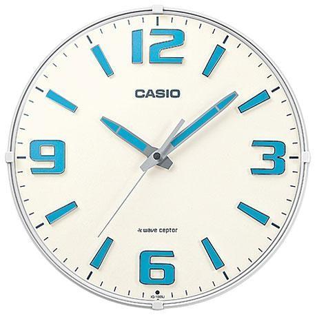 CASIO IQ-1009J-7JF 電波掛け時計