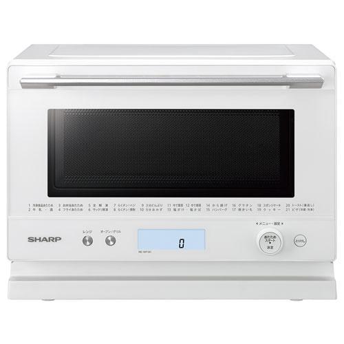 シャープ 新商品 店 RE-WF181-W ホワイト 18L オーブンレンジ