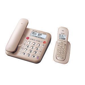 シャープ JD-MK1CL ゴールド系 子機1台タイプ 電話機 購入 新作 コードレス
