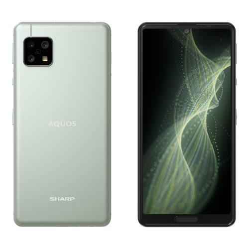シャープ AQUOS sense 5G SH-M17 S オリーブシルバー 春の新作続々 4GB 5.8型 ※アウトレット品 64GB SIMフリー
