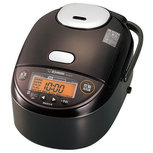 象印 NP-ZU10-TD 選択 ダークブラウン 5.5合 極め炊き 圧力IH炊飯ジャー マーケット