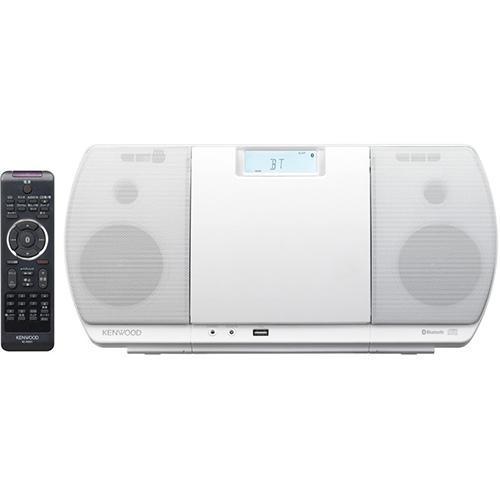 ケンウッド 贈呈 CR-D3-W ホワイト CD 新品 Bluetooth USBパーソナルオーディオシステム