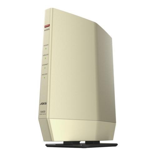 バッファロー WSR-5400AX6S-CG シャンパンゴールド Wi-Fi 6 テレビで話題 毎日がバーゲンセール プレミアムモデル 対応ルーター