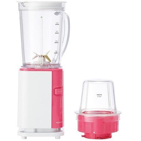 コイズミ KMZ-0401-P ミルミキサー ピンク メーカー公式 大幅値下げランキング