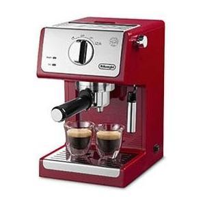 デロンギ ECP3220J-R パッション 美品 アクティブ レッド コーヒーメーカー 好評受付中