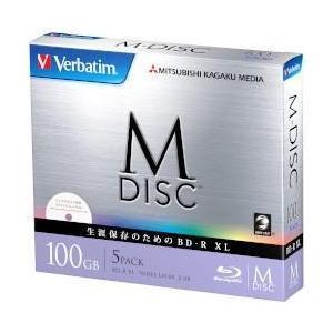 Verbatim SALENEW大人気 DBR100YMDP5V1 <セール&特集> BD-R 4倍速 XL 5枚組