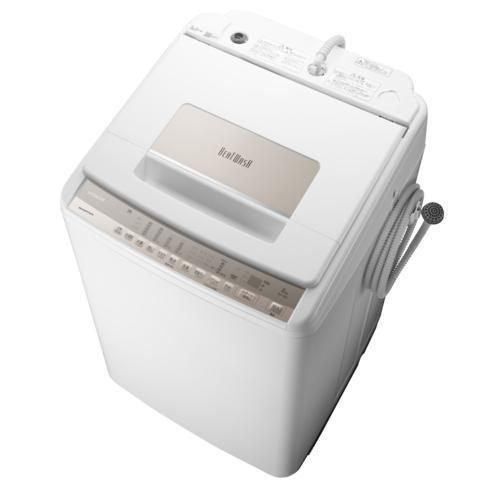 設置 リサイクル 日立 BW-T807-N 商店 シャンパン お得なキャンペーンを実施中 全自動洗濯機 ビートウォッシュ 上 洗濯8kg