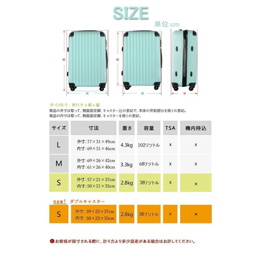 スーツケース mサイズ おしゃれ 軽量 4-7日用 キャリーケース キャリーバッグ 旅行 丈夫 可愛い レディース バッグ best-share 11