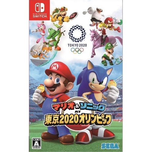 マリオ&ソニック AT 東京2020オリンピック  Nintendo Switch版 HAC-P-ARQPA best-tecc