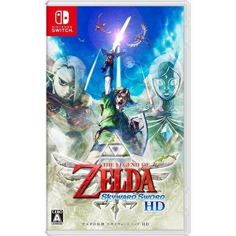 ゼルダの伝説 スカイウォードソード HD Nintendo Switch HAC-P-AZ89A best-tecc